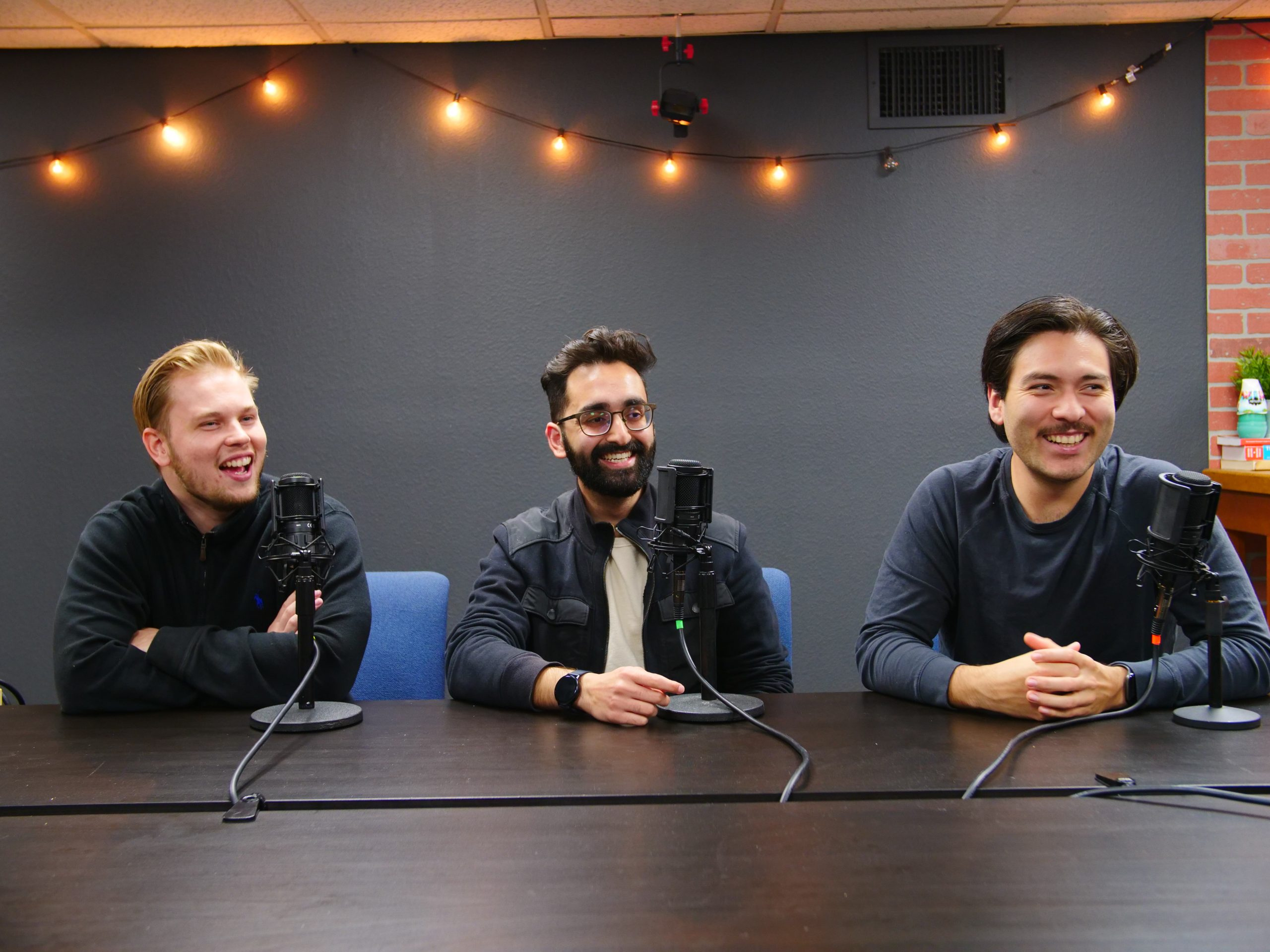 Founders of The Brew platform